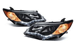 2003 toyota matrix projector headlights