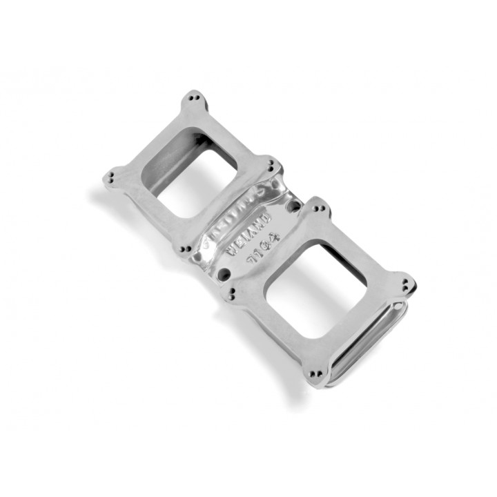 Weiand 7164P - Supercharger Carburetor Adapter