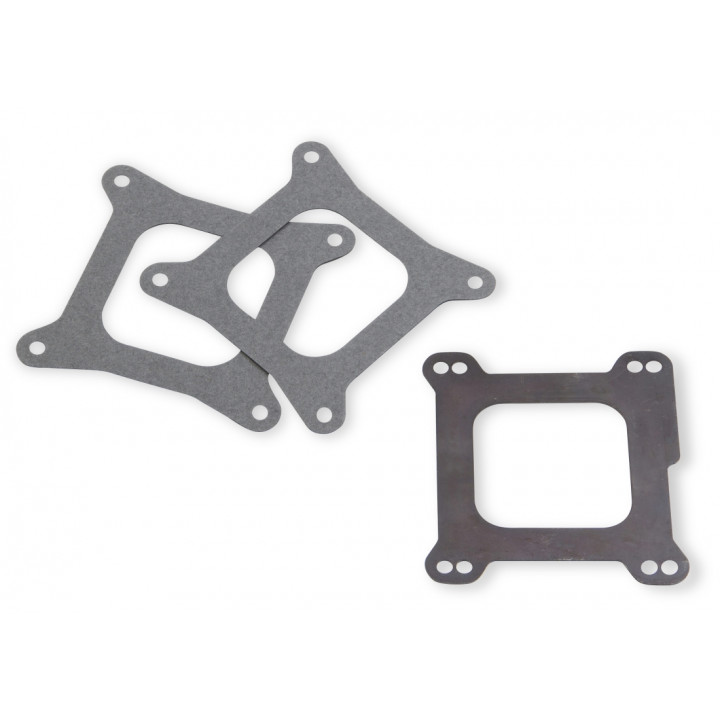 Weiand 9006 - Carburetor Sealing Plate - (1/16 in. Thick) - (Pair)