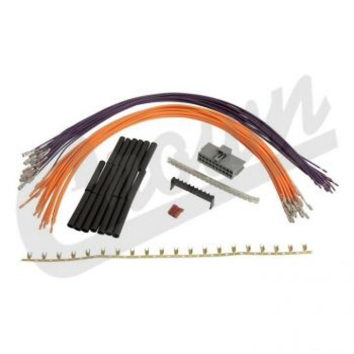 free shipping to canada and usa for crown automotive 5183442aa - wiring  harness repair kit | tdot performance