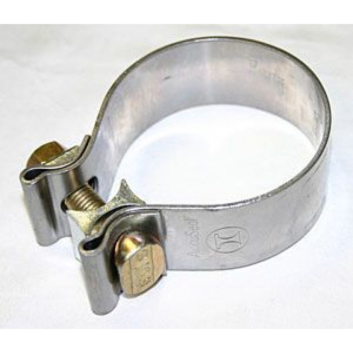 dynomax 36461 walker v band exhaust clamps 2 3 4 narrow band stain