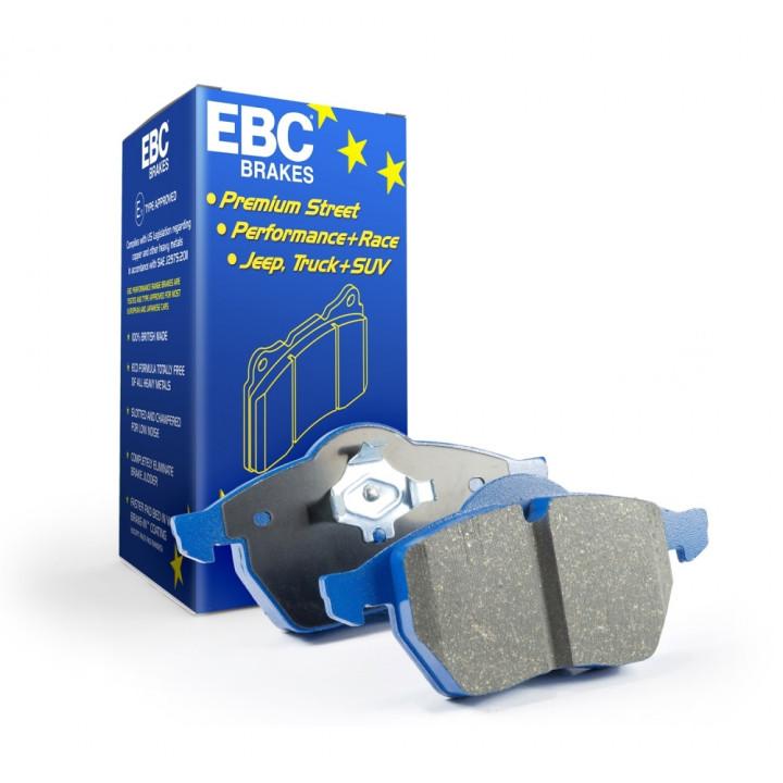 EBC Brakes DP51254NDX - EBC Bluestuff NDX Full Race Brake Pads