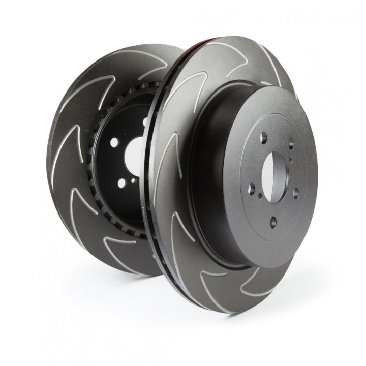 EBC Brakes BSD411 - EBC High Carbon Blade Rotors