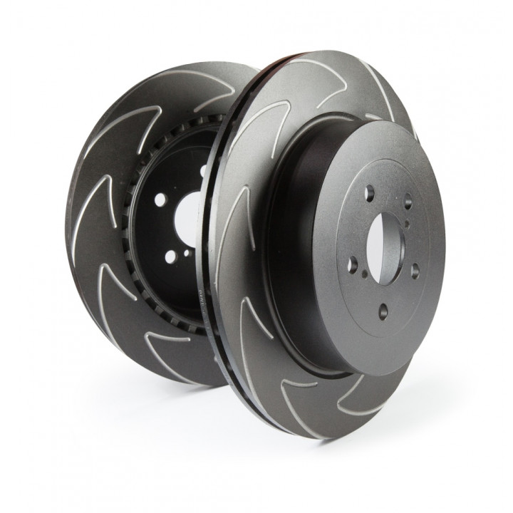 EBC Brakes BSD7218 - EBC High Carbon Blade Rotors