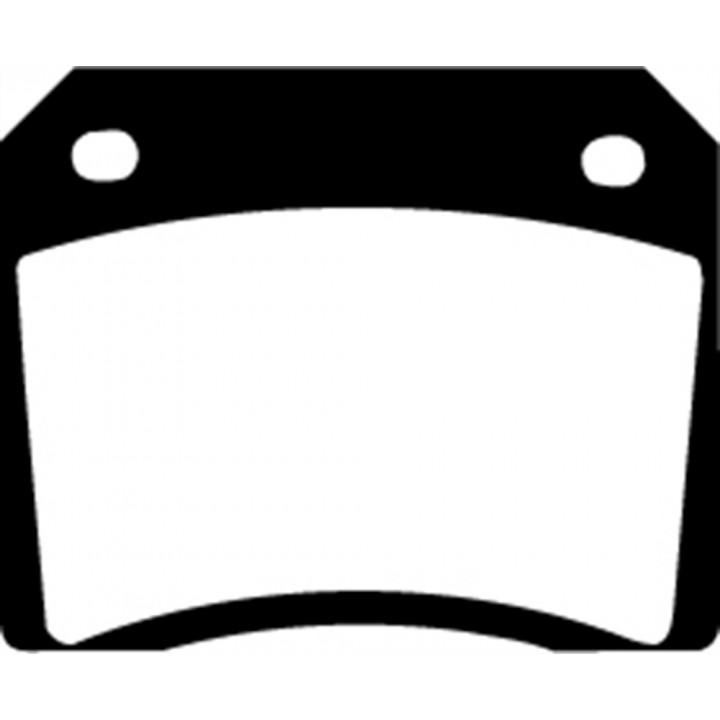 EBC Brakes DP3101C - EBC Redstuff Ceramic LOW DUST Brake Pads