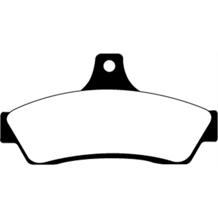 EBC Brakes DP31711C - EBC Redstuff Ceramic LOW DUST Brake Pads