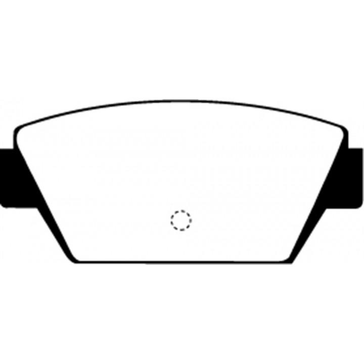 EBC Brakes UD329 - EBC Ultimax OEM Replacement Brake pads