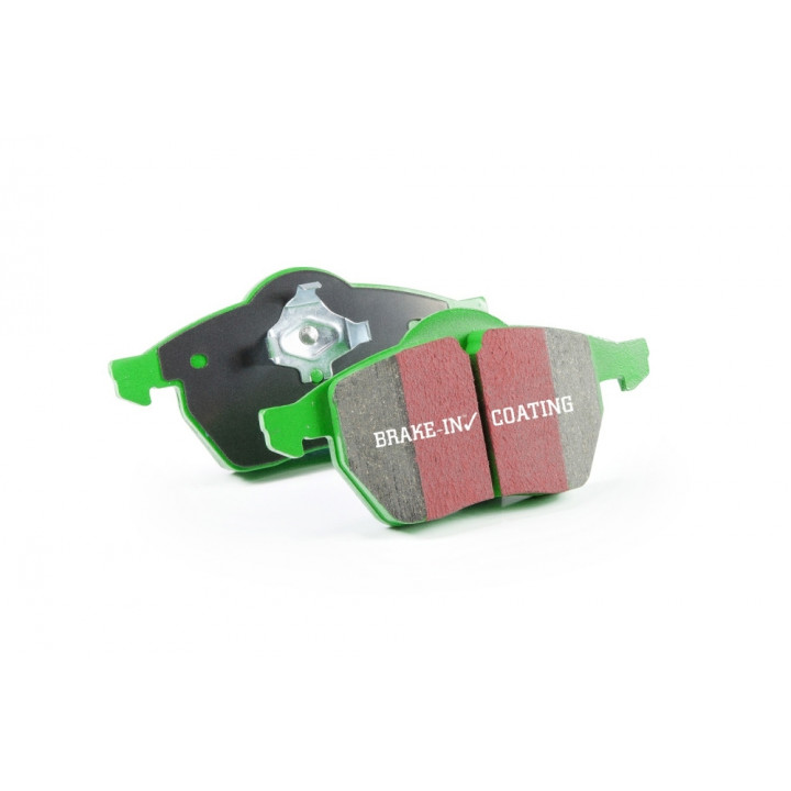 EBC Brakes DP61876 - EBC 6000 Series Greenstuff Truck and SUV Brakes