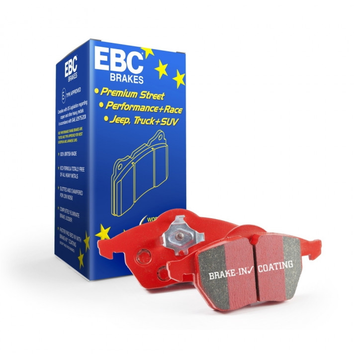 EBC Brakes DP31172C - EBC Redstuff Ceramic LOW DUST Brake Pads