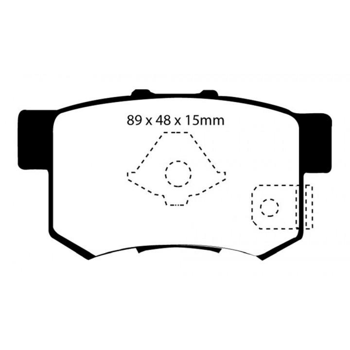 EBC Brakes UD1086 - EBC Ultimax OEM Replacement Brake pads