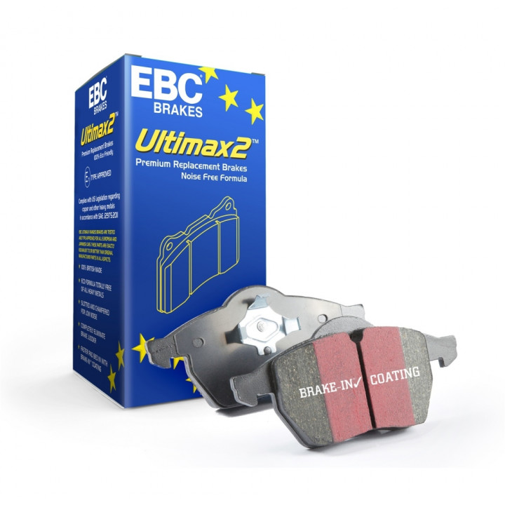 EBC Brakes UD1260 - EBC Ultimax OEM Replacement Brake pads