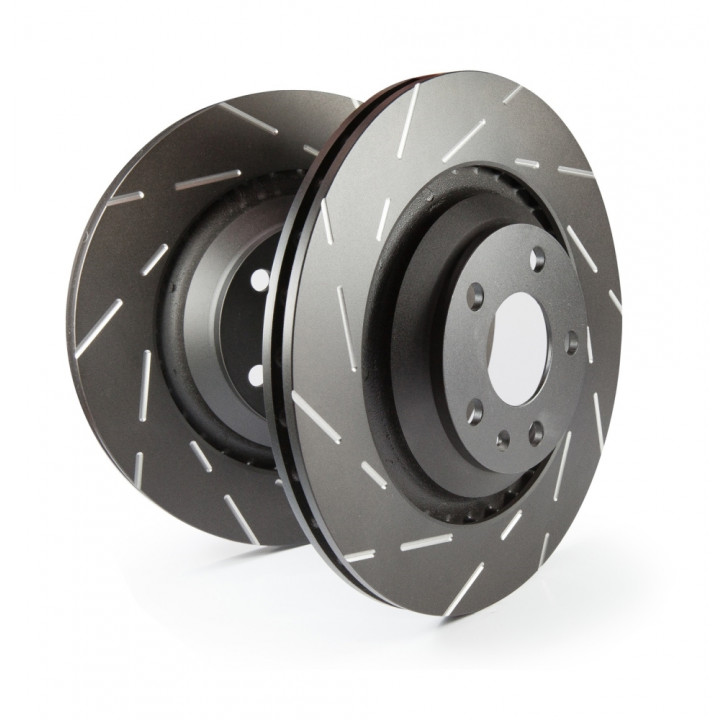 EBC Brakes USR7217 - EBC USR Series sport slotted rotors