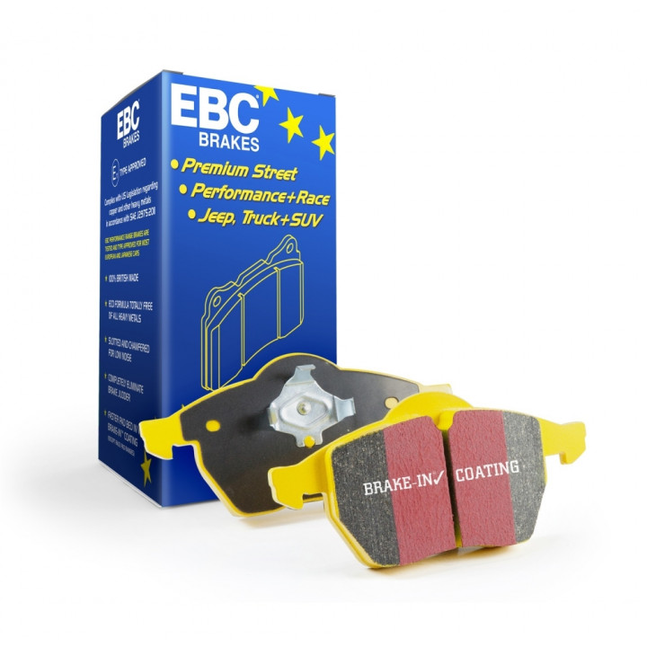 EBC Brakes DP41198R - Yellowstuff Street and Track and Truck Upgrade Brake Pads