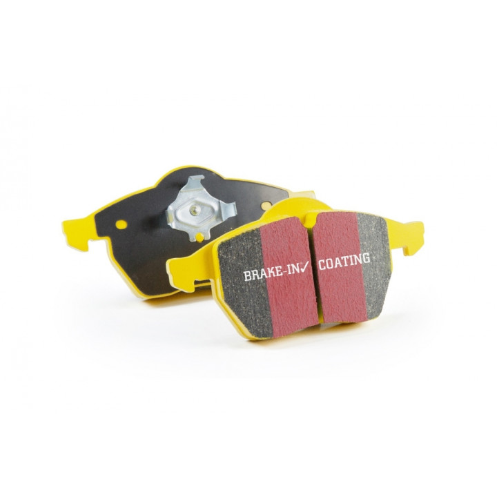 EBC Brakes DP41161R - Yellowstuff Street and Track and Truck Upgrade Brake Pads