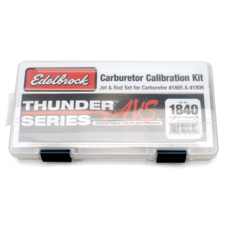 Edelbrock 1840 - Thunder Series AVS Carburetor Calibration Kits
