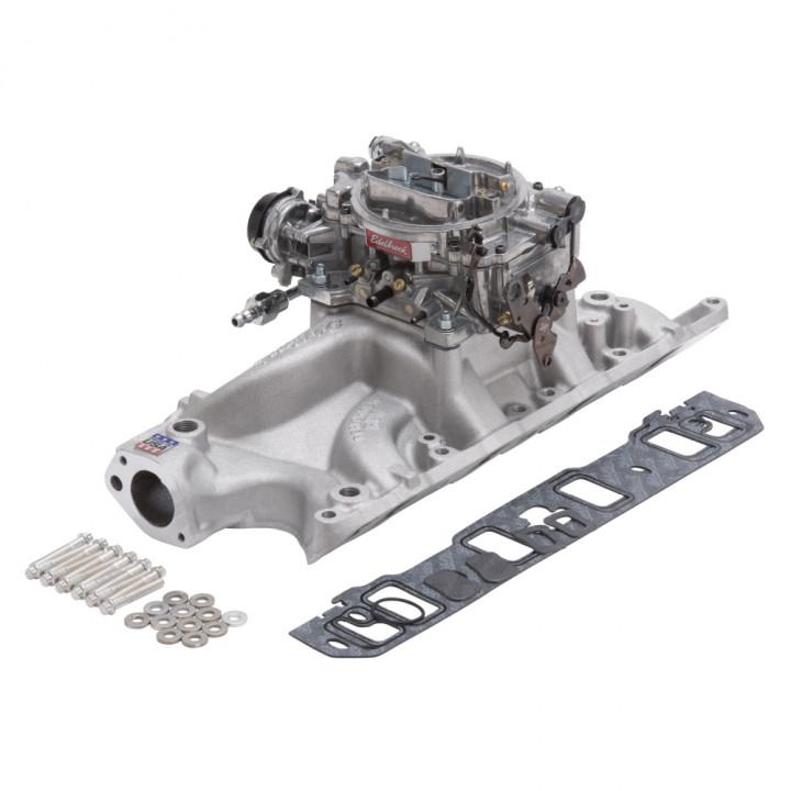 Edelbrock 2032 - Performer RPM Intake Manifold and Carburetor Kits
