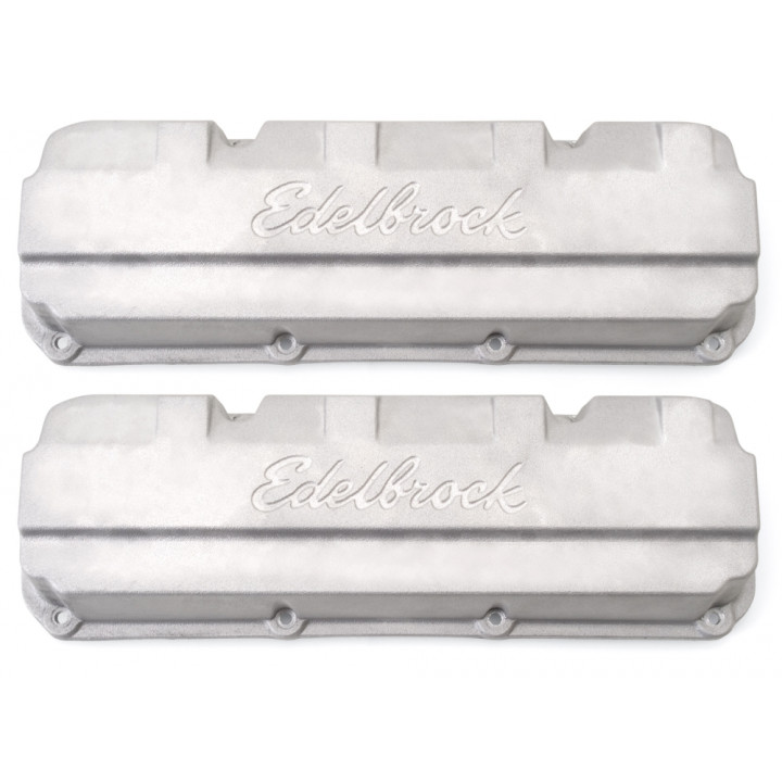 Edelbrock 4267 - Racing Die-Cast Aluminum Valve Covers