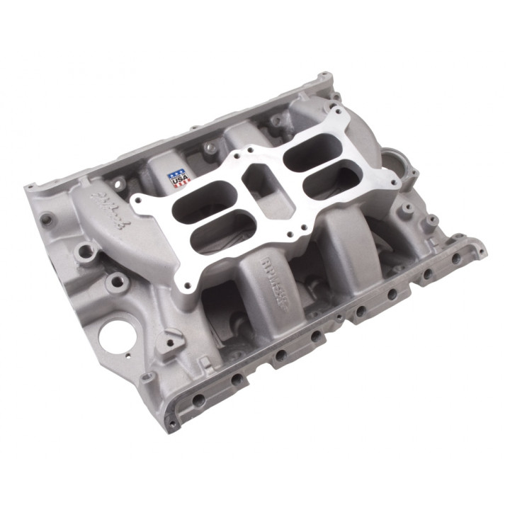 Edelbrock 7505 - Performer RPM Dual-Quad Air-Gap Intake Manifolds