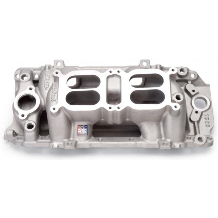 Edelbrock 7520 - C-66-O Dual Quad Intake Manifolds