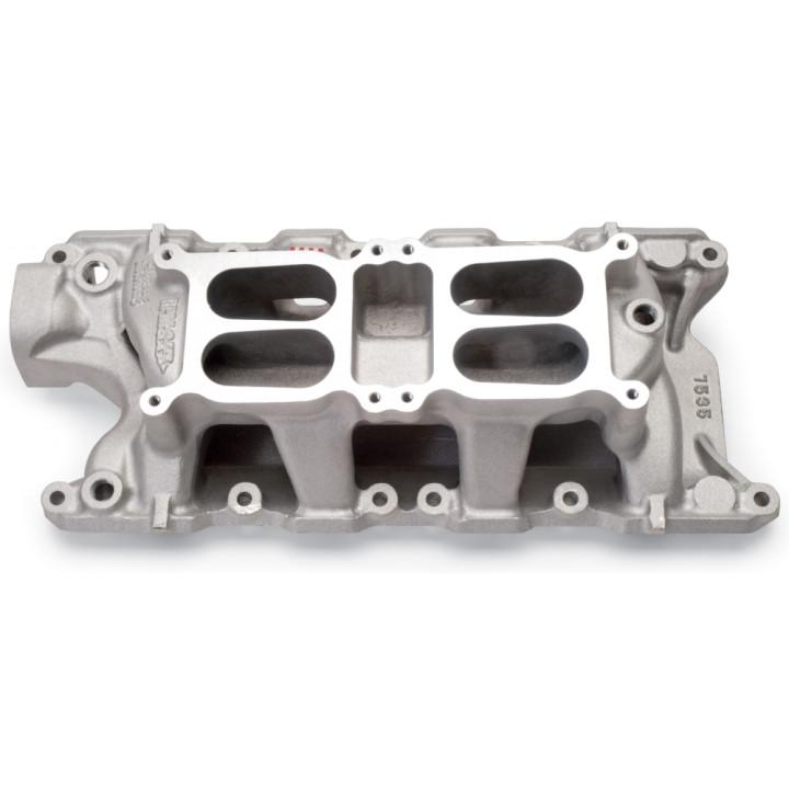 Edelbrock 7535 - Performer RPM Dual-Quad Air-Gap Intake Manifolds