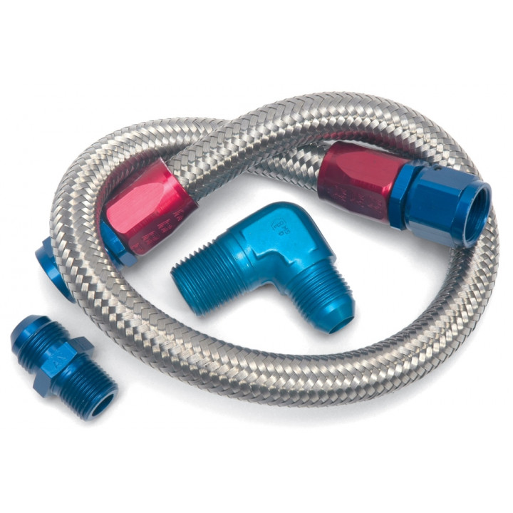 Edelbrock 8122 - Stainless Steel Braided Fuel Lines