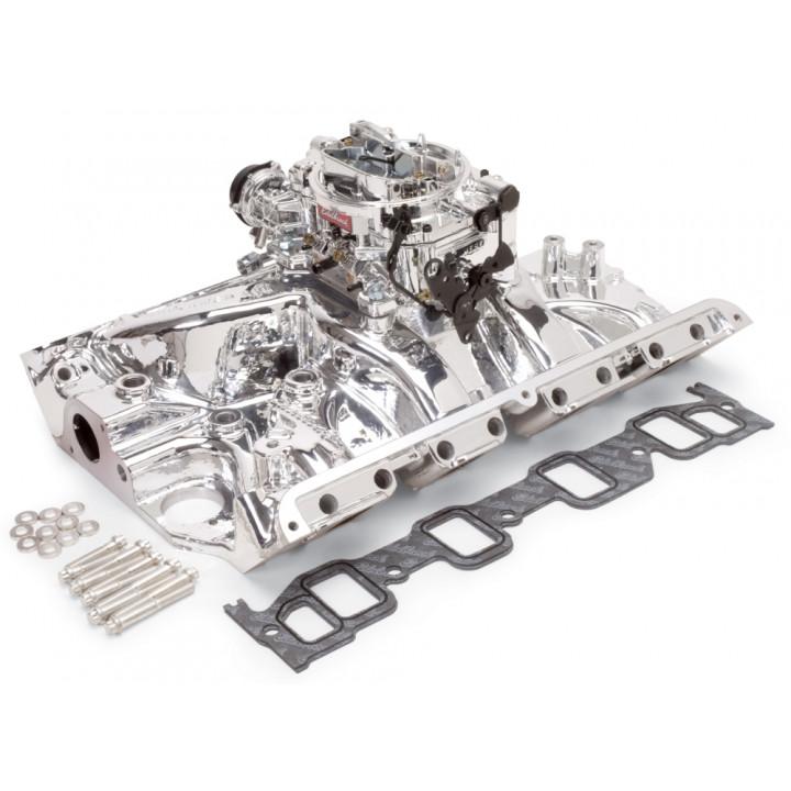 Edelbrock 20374 - Performer RPM Intake Manifold and Carburetor Kits