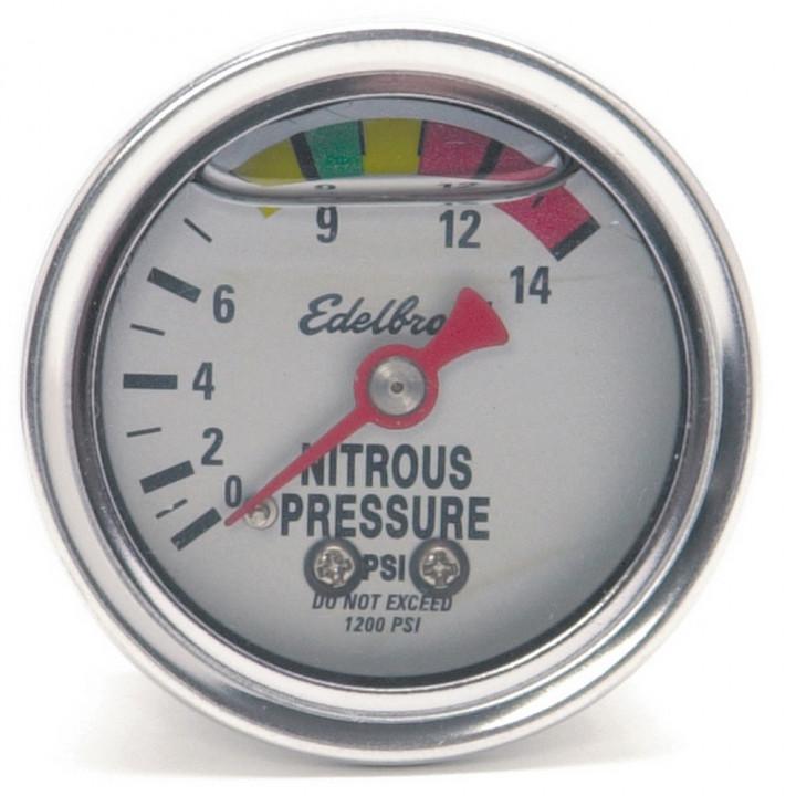 Edelbrock 73801 - Analog Pressure Gauges
