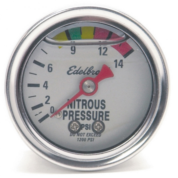 Edelbrock 73801 - Analog Pressure Gauges