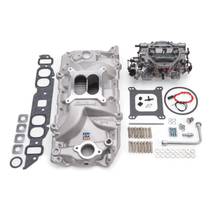 Edelbrock 2062 - Performer RPM Intake Manifold and Carburetor Kits