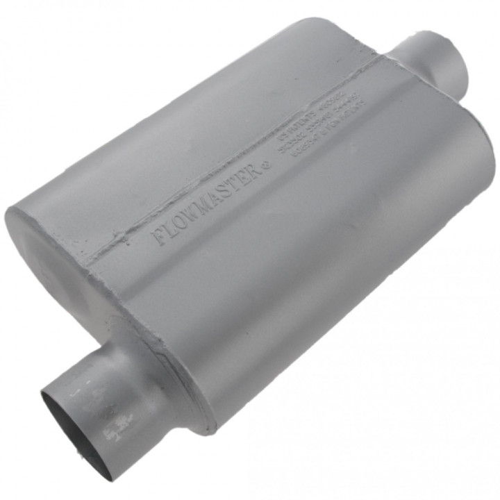 """Flowmaster Original 40 Series Muffler 3/"""" Offset Inlet//Center Outlet #43041"""