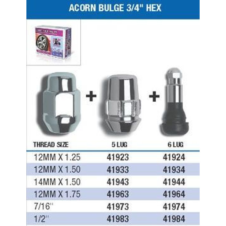 Gorilla Acorn Bulge Wheel Installation Kits