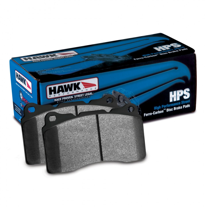 Hawk Performance HB172F.595 Disc Brake Pad HPS Performance Street w/0.595 Thickness Front