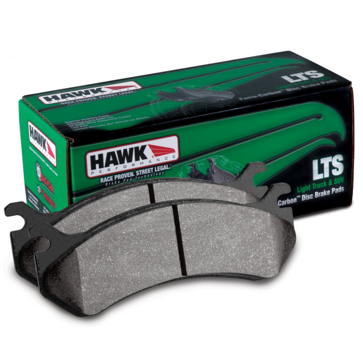 Hawk Performance HB393Y.665 Disc Brake Pad LTS w/0.665 Thickness Front
