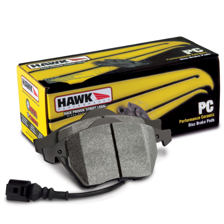 Hawk Performance HB360Z.670 Disc Brake Pad Performance Ceramic w/0.670 Thickness Front