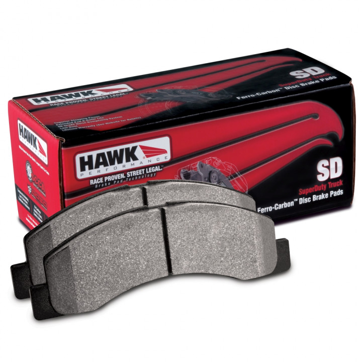 Hawk Performance HB316P.670 Disc Brake Pad SuperDuty w/0.670 Thickness Front DLX Pre Runner