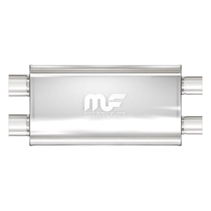 Magnaflow Performance Exhaust Satin Stainless Steel Universal Fit Muffler 12599