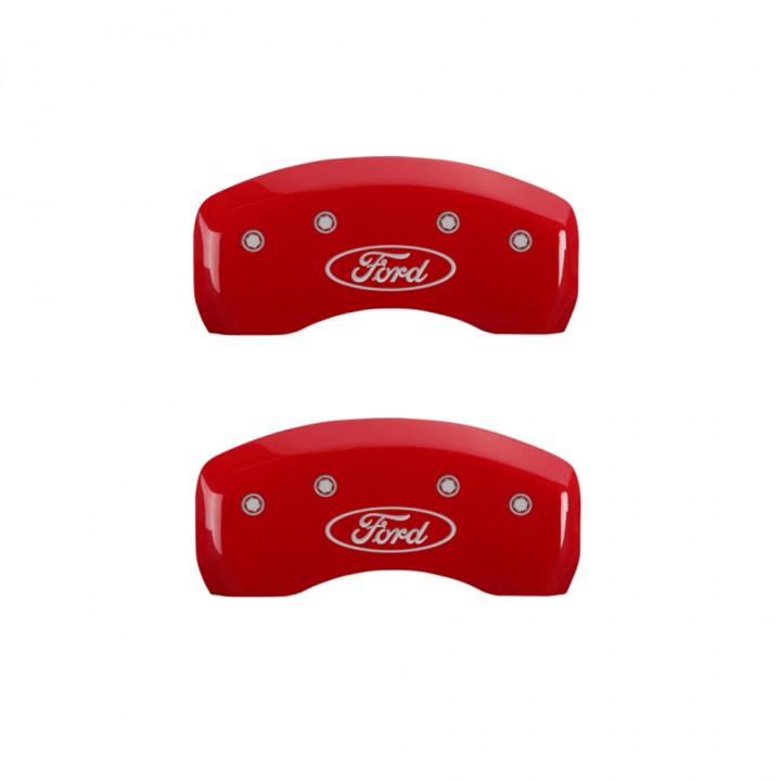 MGP Red Caliper Covers