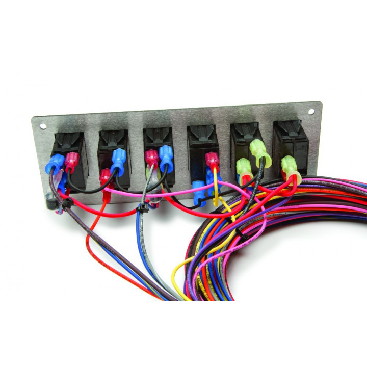 painless wiring 50005 - race only chassis harness w/switch panels - 10  circuits