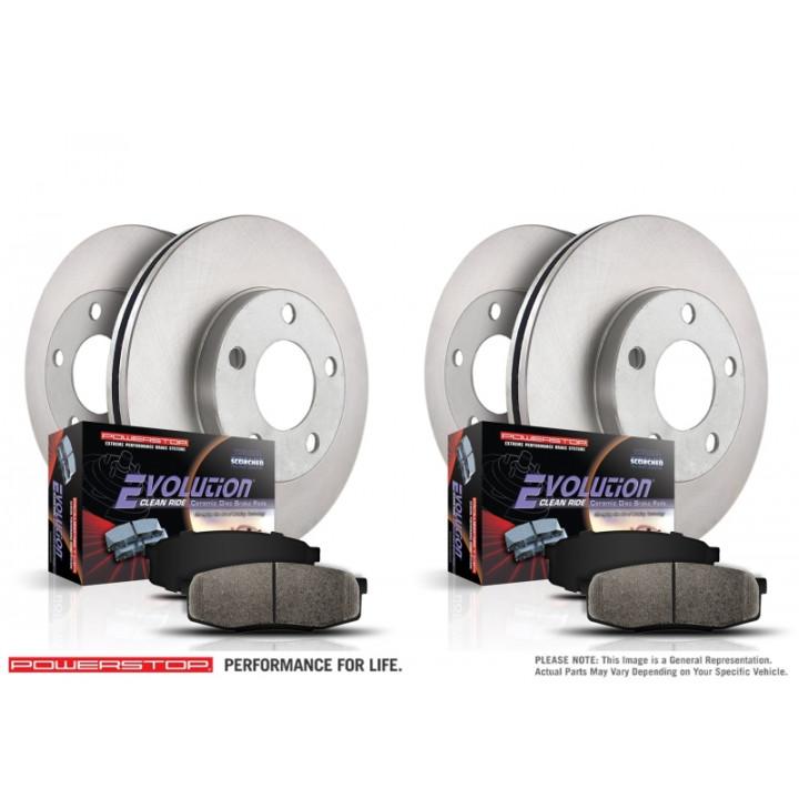 Power Stop KOE6134 Autospecialty Daily Driver OE Brake Kit