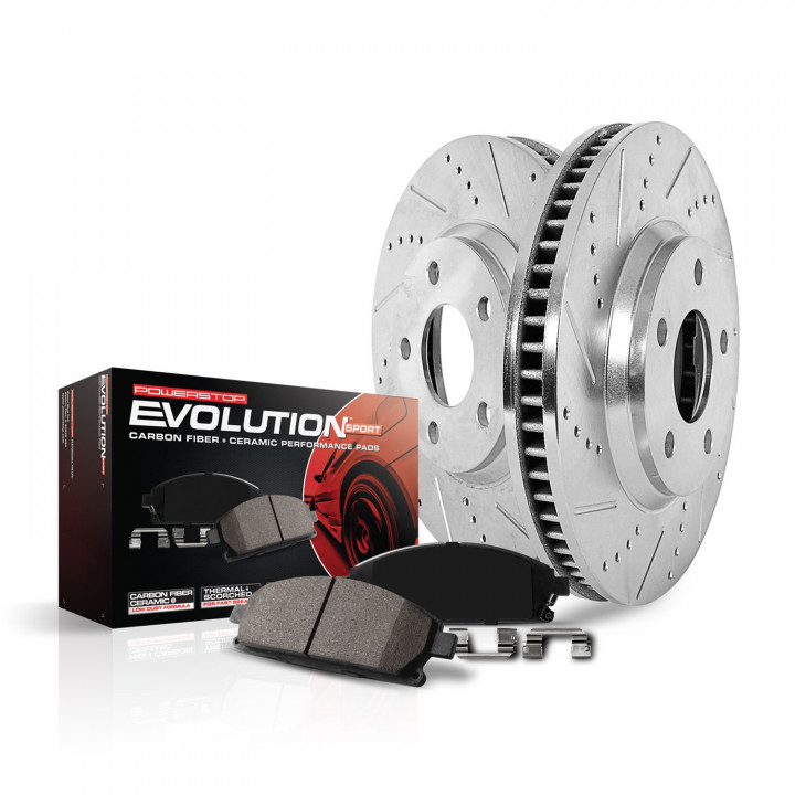 Power Stop Z23 Evolution Sport Performance 1-Click Brake Kits