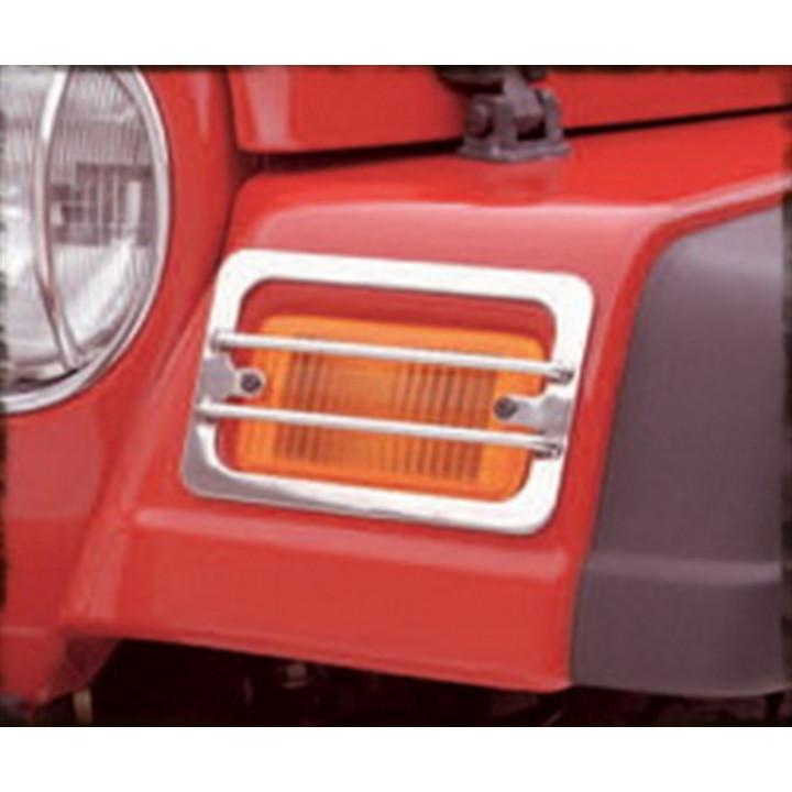 Smittybilt 5470 - Euro Turn Signal Covers