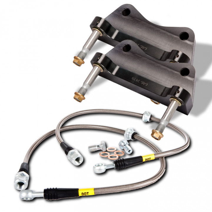 StopTech 83.522.0047.73 - BBK 2pc Rotor, Rear