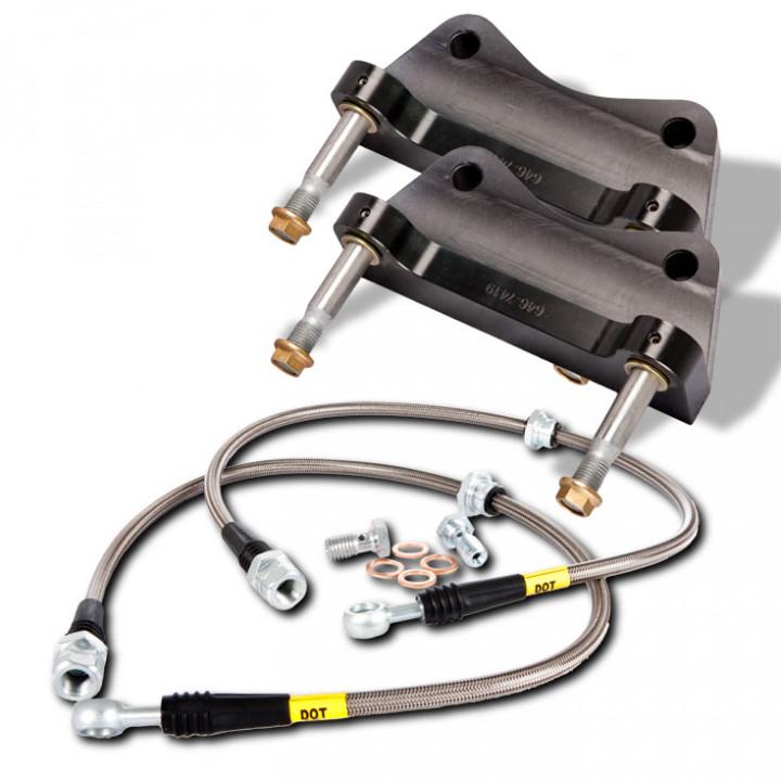StopTech 83.646.0023.54 - BBK 2pc Rotor, Rear