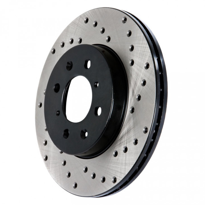 Cross Drilled Rotors >> Free Shipping To Canada And Usa For Stoptech 128 51044r Cross