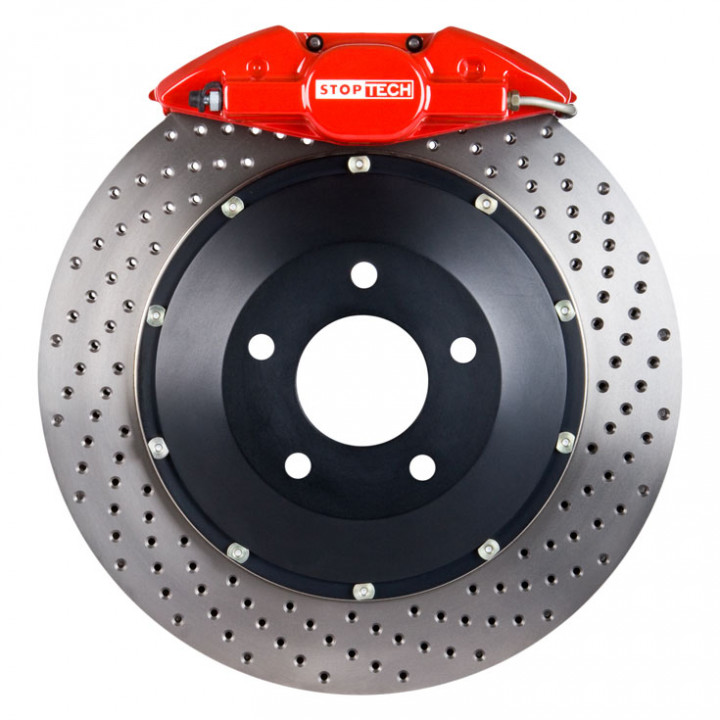 StopTech 83.842.002G.72 - BBK 2pc Rotor, Rear