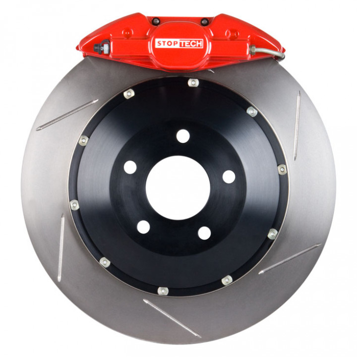 StopTech 83.842.002G.71 - BBK 2pc Rotor, Rear