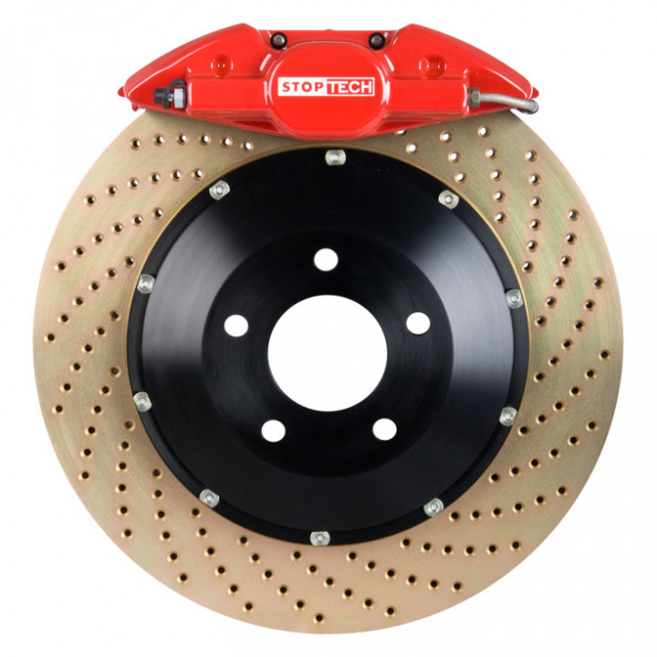 StopTech 83.135.002G.74 - BBK 2pc Rotor, Rear