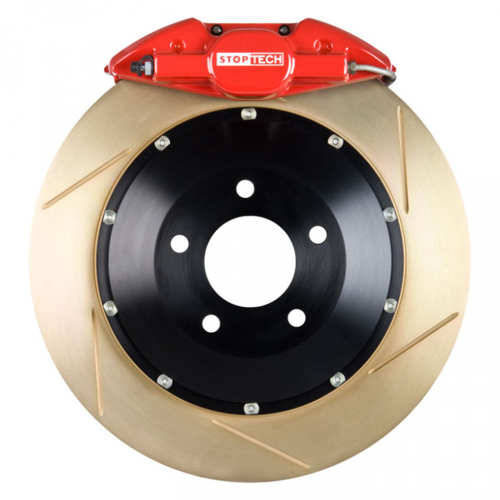 StopTech 83.842.002G.73 - BBK 2pc Rotor, Rear
