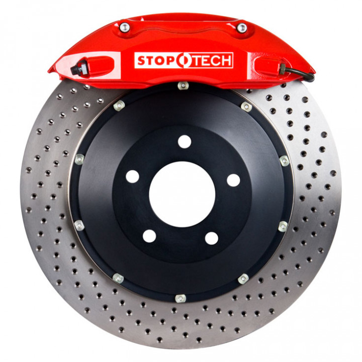 StopTech 83.565.4600.72 - BBK 2pc Rotor, Front