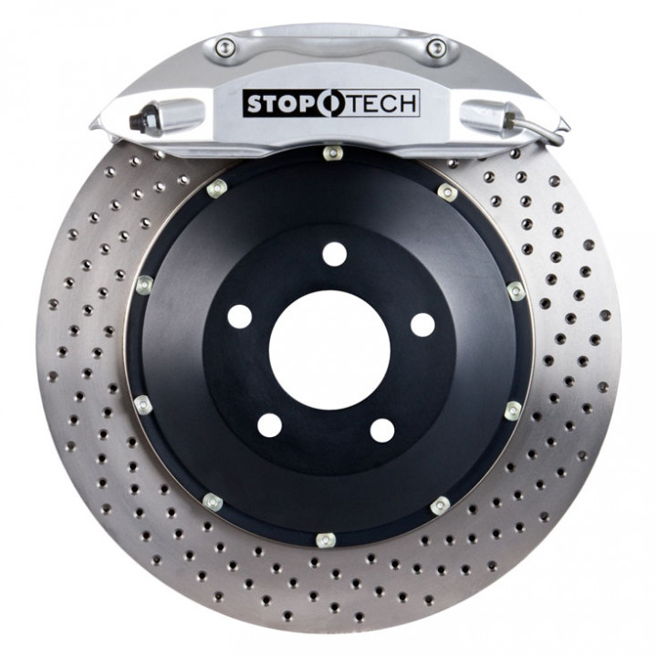 StopTech 83.487.4700.62 - BBK 2pc Rotor, Front